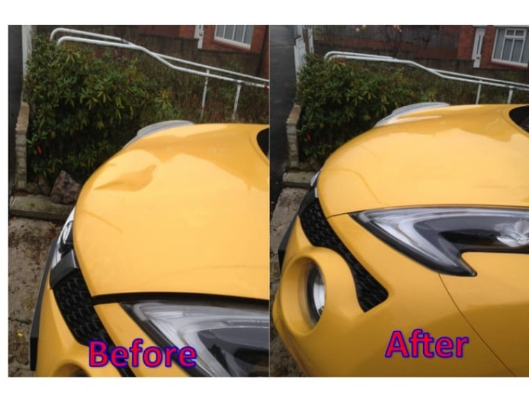 NIssan Juke Dent Repair in Leeds